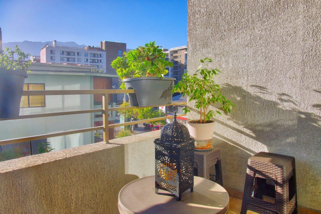 terrasse appartement las condes