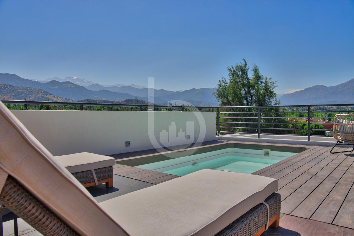 New Penthouse duplex apartment for rent in Lo Barnechea